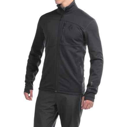 Black Diamond Equipment Compound Polartec® Jacket (For Men) in Smoke - Closeouts