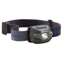 Black Diamond Equipment Cosmo LED Headlamp in Dark Shadow - 2nds