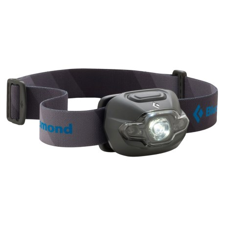 Black Diamond Equipment Cosmo LED Headlamp in Dark Shadow