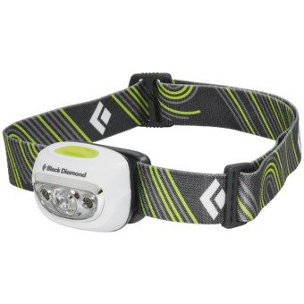 Black Diamond Equipment Cosmo LED Headlamp in Ultra  White