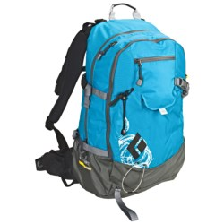 Black Diamond Equipment Covert AvaLung Snowsport Backpack in Ocean Print