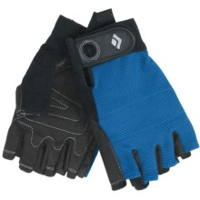 Black Diamond Equipment Crag Climbing Gloves - Half-Finger (For Men and Women) in Cobalt - Closeouts