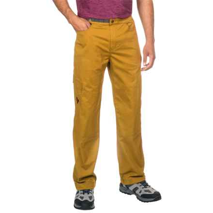 Black Diamond Equipment Credo Pants (For Men) in Gold - Closeouts