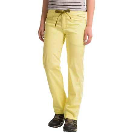 Black Diamond Equipment Credo Pants (For Women) in Lemon - Closeouts