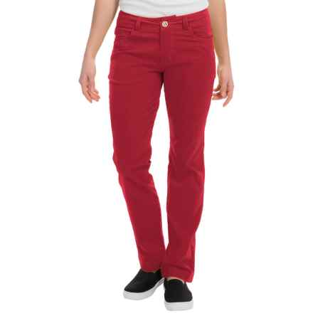 Black Diamond Equipment Creek Pants (For Women) in Maroon - Closeouts