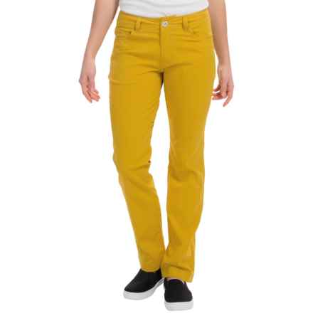Black Diamond Equipment Creek Pants (For Women) in Ochre - Closeouts