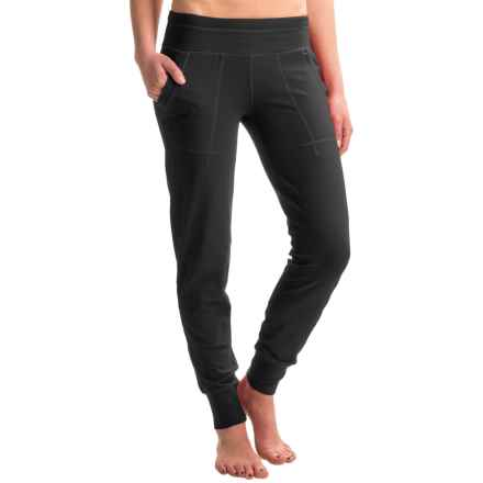 Black Diamond Equipment Cuffed Track Pants (For Women) in Slate - Closeouts