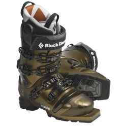 Black Diamond Equipment Custom Telemark Ski Boots - 75mm (For Men and Women) in Bronze