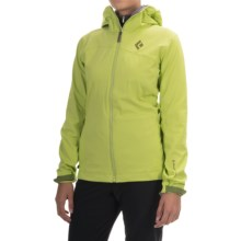Black Diamond Equipment Dawn Patrol LT Shell Jacket (For Women) in Aloe - Closeouts