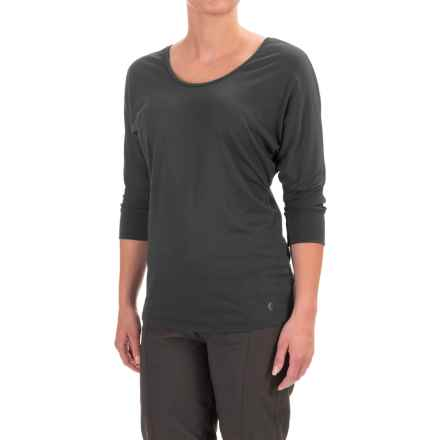 Black Diamond Equipment Desert Song Tunic Shirt - 3/4 Sleeve (For Women) in Black - Closeouts