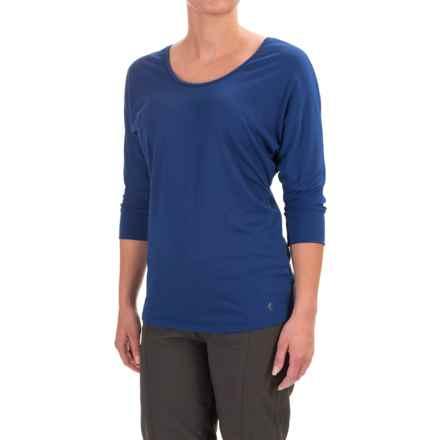 Black Diamond Equipment Desert Song Tunic Shirt - 3/4 Sleeve (For Women) in Denim - Closeouts