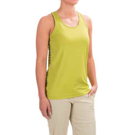 Black Diamond Equipment Dihedral Tank Top (For Women) in Grass/Sage Stripe - Closeouts