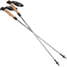 Black Diamond Equipment Distance Cork Z-Pole Trekking Poles in Mojave - Closeouts