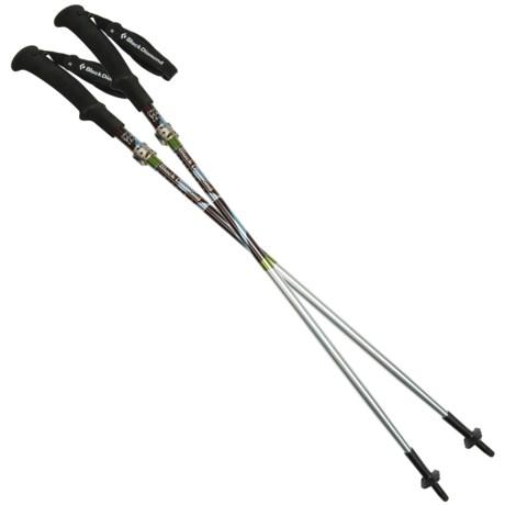 Black Diamond Equipment Distance FL Z-Poles Trekking Poles - Adjustable in Asst
