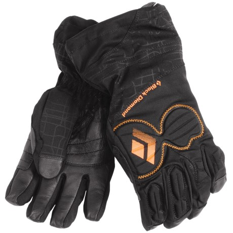 Black Diamond Equipment Enforcer Gore-Tex® XCR® Gloves - Waterproof, Insulated, PrimaLoft® (For Men) in Black
