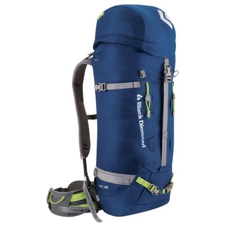 Black Diamond Equipment Epic 35 Climbing Backpack - Internal Frame in Cobalt