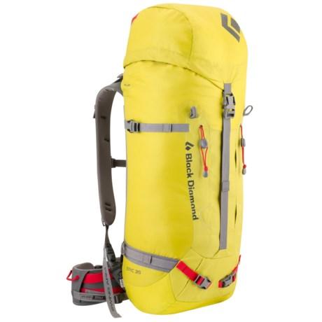 Black Diamond Equipment Epic 35 Climbing Backpack - Internal Frame in Sulfur