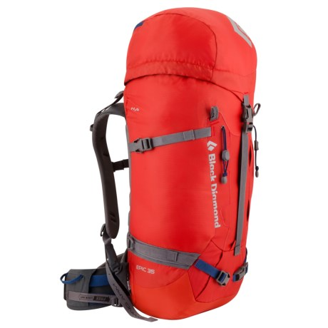 Black Diamond Equipment Epic 45 Climbing Backpack - Internal Frame in Coal