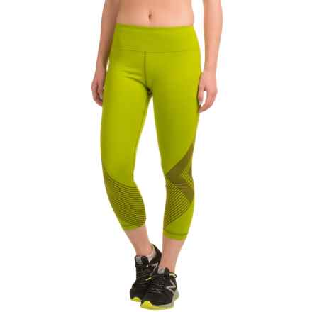 Black Diamond Equipment Equinox Capri Leggings (For Women) in Grass - Closeouts