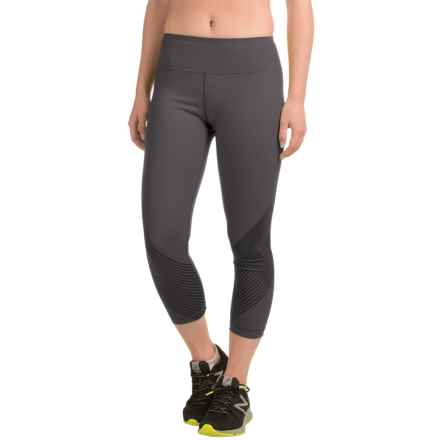Black Diamond Equipment Equinox Capri Leggings (For Women) in Slate - Closeouts