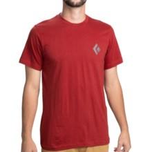 Black Diamond Equipment Equipment For Alpinist T-Shirt - Organic Cotton, Short Sleeve (For Men) in Deep Torch - Closeouts