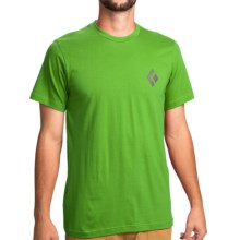 Black Diamond Equipment Equipment For Alpinist T-Shirt - Organic Cotton, Short Sleeve (For Men) in Vibrant Green - Closeouts
