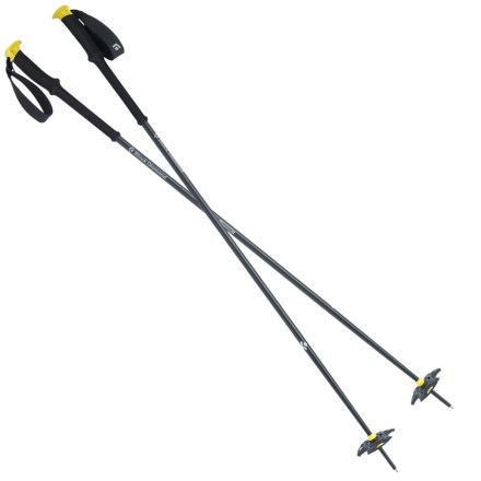 91ade91c91f0 Black Diamond Equipment Expedition 1 Fixed Length Ski Poles in Blazing  Yellow - Closeouts