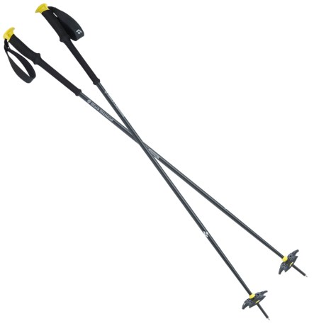 Black Diamond Equipment Expedition 1 Fixed Length Ski Poles in Blazing Yellow