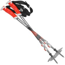 Black Diamond Equipment Expedition Adjustable Ski Poles - Pair in Chili Pepper - Closeouts