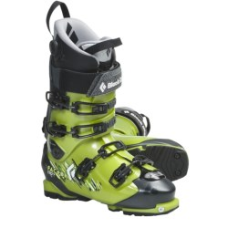 Black Diamond Equipment Factor 110 AT Ski Boots - Dynafit Compatible (For Men and Women) in Envy Green/Black