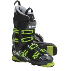 Black Diamond Equipment Factor 130 AT Ski Boots (For Men and Women) in Black