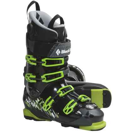 Black Diamond Equipment Factor 130 AT Ski Boots (For Men and Women) in Black - Closeouts