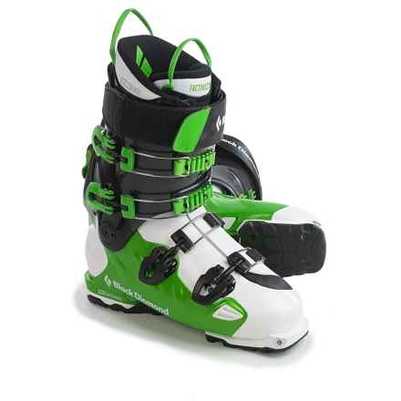 Black Diamond Equipment Factor MX 130 Ski Boots - Dynafit Compatible in Mean Green - Closeouts