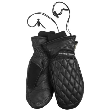 Black Diamond Equipment Fever Gore-Tex® XCR® Mittens - Waterproof, Insulated (For Women) in Black