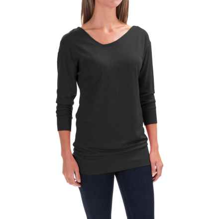 Black Diamond Equipment Fine Jade Tunic Shirt - Merino Wool-Modal, Long Sleeve (For Women) in Black - Closeouts