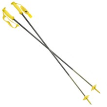 Black Diamond Equipment Fixed Length Carbon Ski Poles in Yellow/Black - Closeouts
