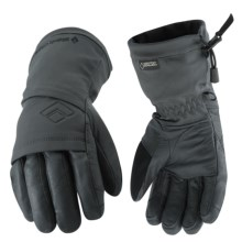 Black Diamond Equipment Float Gore-Tex® XCR® Gloves - Waterproof, Insulated (For Women) in Black - Closeouts