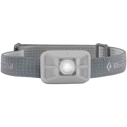 Black Diamond Equipment Gizmo LED Headlamp - 60 Lumens in Aluminum - Closeouts