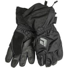 Black Diamond Equipment Glissade Gloves - Waterproof, Insulated (For Men) in Black - Closeouts