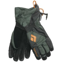 Black Diamond Equipment Glissade Gloves - Waterproof, Insulated (For Men) in Gunmetal - Closeouts