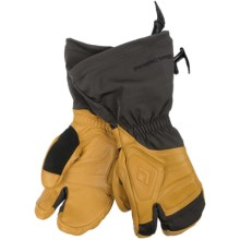 Black Diamond Equipment Gore-Tex® Guide Lobster Gloves - Waterproof, Leather (For Men and Women) in Natural - Closeouts