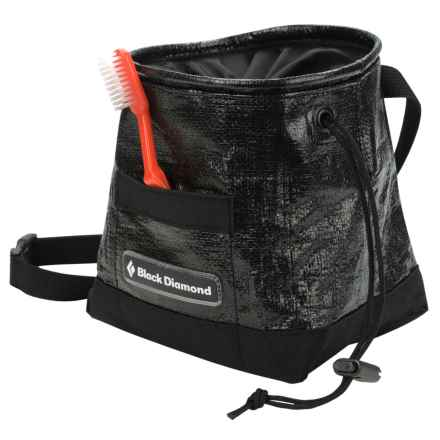 Black Diamond Equipment Gorilla Chalk Bag in Black/Silver - Closeouts