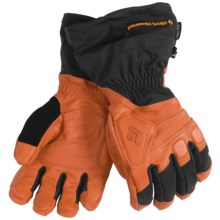 Black Diamond Equipment Guide Gore-Tex® XCR® Gloves - Waterproof, Insulated (For Men) in Flame Orange - Closeouts