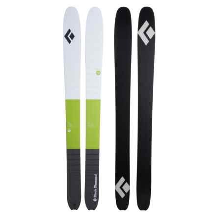Black Diamond Equipment Helio 116 Carbon Alpine Skis in Grass - Closeouts