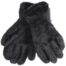 Black Diamond Equipment High Loft Fleece Gloves - Polartec® Thermal Pro® (For Men and Women) in Black - Closeouts