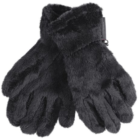 Black Diamond Equipment High Loft Fleece Gloves - Polartec® Thermal Pro® (For Men and Women) in Black