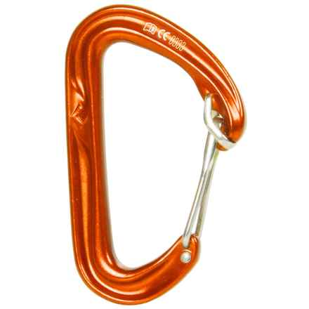 Black Diamond Equipment HoodWire Carabiner in Bd Orange - 2nds