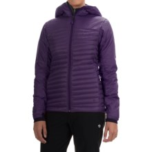 Black Diamond Equipment Hot Forge Hybrid Hooded Jacket - PrimaLoft®-Down (For Women) in Nightshade - Closeouts