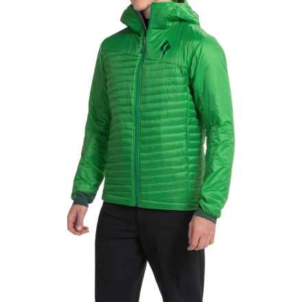 Black Diamond Equipment Hot Forge PrimaLoft® Hybrid Hoodie - Insulated (For Men) in Oscar - Closeouts