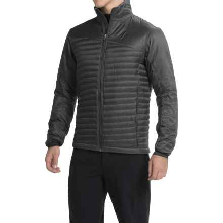Black Diamond Equipment Hot Forge PrimaLoft® Hybrid Jacket -- Insulated (For Men) in Black - Closeouts
